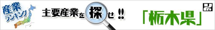 主要産業を探せ 「栃木県」