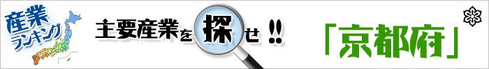 主要産業を探せ 「京都府」